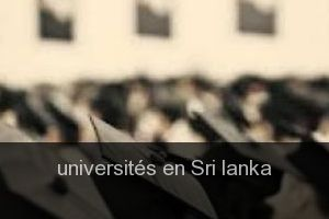 Universités en Sri lanka